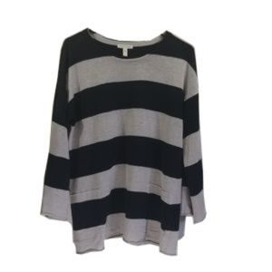 Eileen Fisher Knit stripes Pullover
